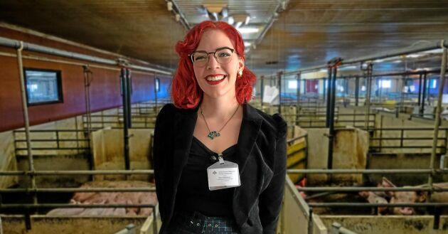 Emilia Astrenius Widerström, LRF Ungdomen, har tröttnat på de årliga kampanjerna mot animaliska produkter.