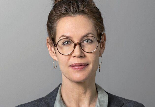 Madeleine Linins Mörner på Axfoundation, ansvarig för Torsåkerprojektet.