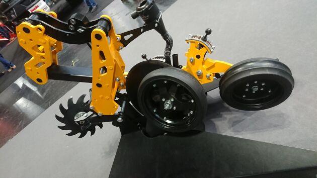 Maskinen bygger på ett modulsystem som gör att den enkelt kan breddas i takt med att behoven utökas.