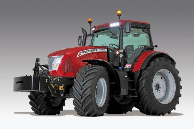 """McCormick X7.690 P6-Drive är en av finalisterna i tvälingen """"tractor of the year"""" 2019."""