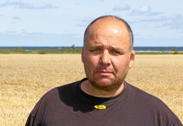 Roger Gustafsson, ordförande för LRF:s kommungrupp i Mörbylånga.
