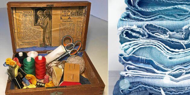 Börja laga kläder – lagalådan med allt du behöver