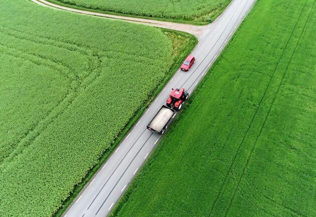 Lugnt. Anpassa körningen så att du inte ligger på för högt varvtal.