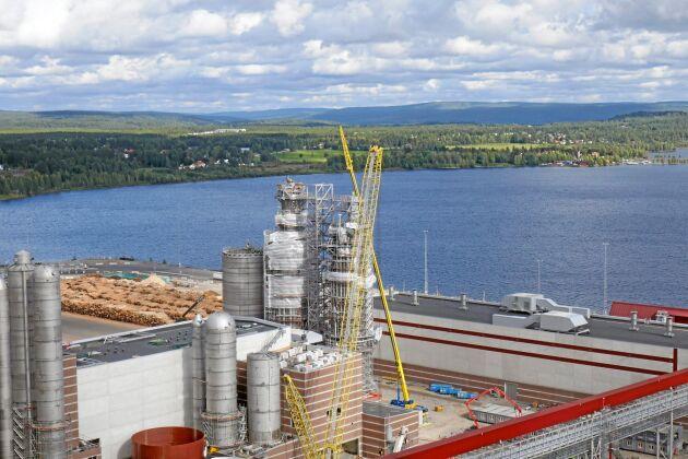 1 500 personer jobbar med utbyggnaden av SCA:s anläggning i Östrand.