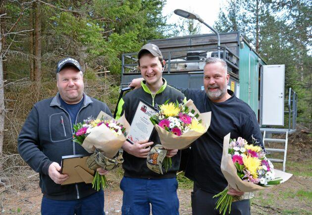 Granvikslaget bestående av Krister Lundin, Henrik Magnusson och Andreas Johansson