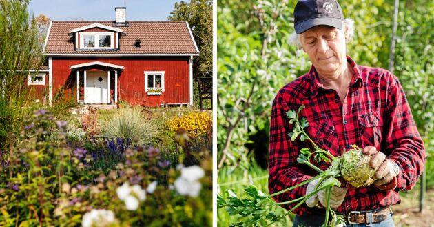 Gunnar är en kunnig odlare och lantbrukskonsulent, kunskaper han har nytta av sedan han och Ann-Helen köpte gården Sunnansjö.