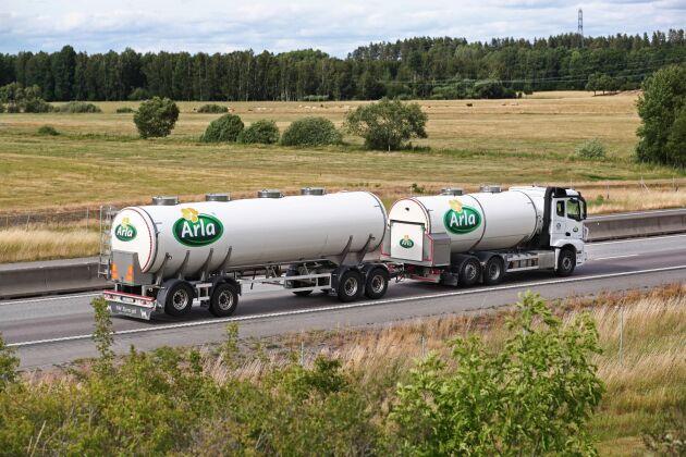 Efter flera års minskad mjölkproduktion ökar nu invägningen av mjölk inom Arla Sverige igen.