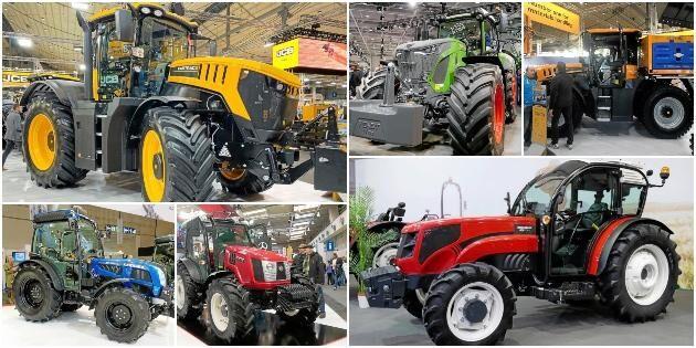 Bildspecial: 24 traktorer – och en flygande spruta