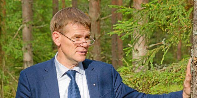 Efter skogsägarnas raseri: Generaldirektör manar till lugn