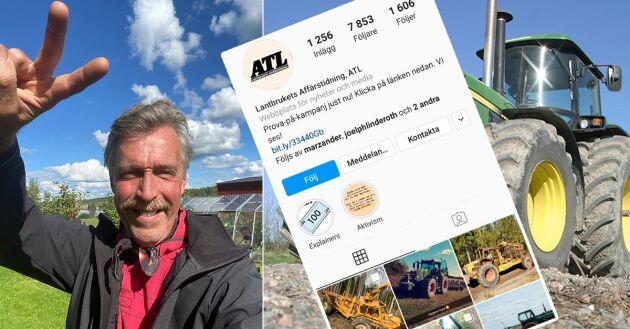 Kenneth Fransson gör succé på ATL:s Instagram med följarnas bilder från vardagen.