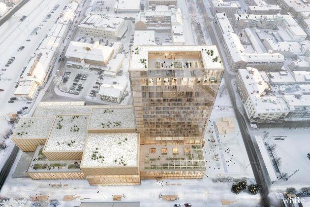 Martinsons får stororder till bygget av Skellefteås kulturhus.