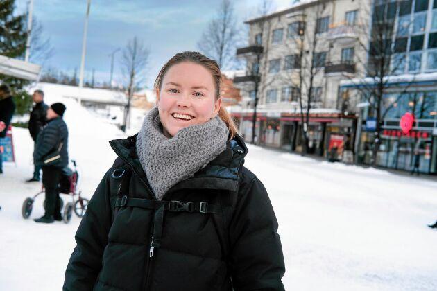 """Elina Markström vågar inte tro på batterifabriken ännu. """"Men blir det av är det ju helt galet"""", säger hon."""