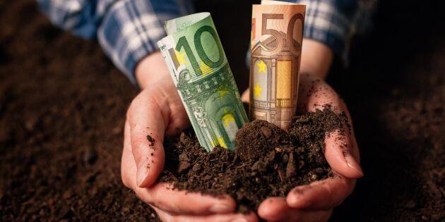 EU betalar för dålig finsk skörd
