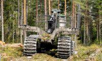 Sjunkande kronkurs oroar skogsmaskinsförsäljare