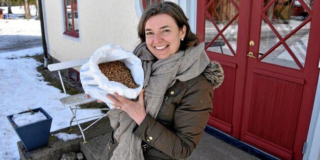 Marie odlar bönan som utmanar de utländska