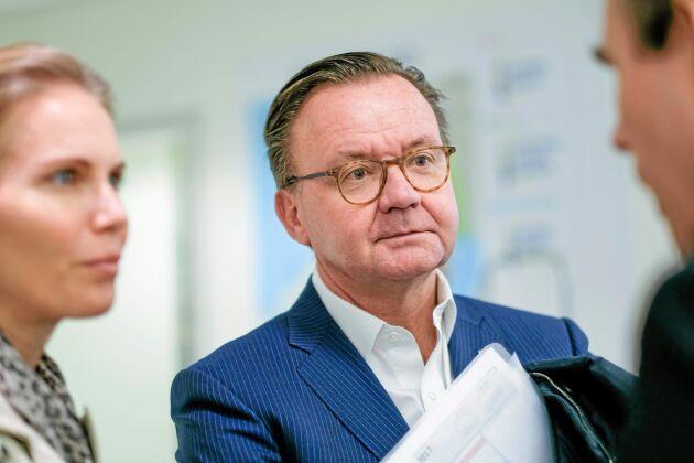 Karl-Henrik Sundström, VD för Stora Enso.