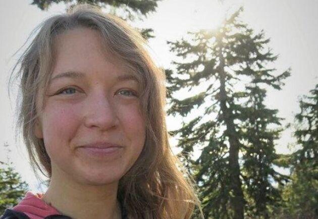 – Att jobba med skog är också att jobba med människor och det ser jag fram emot, säger Anna Halldén.