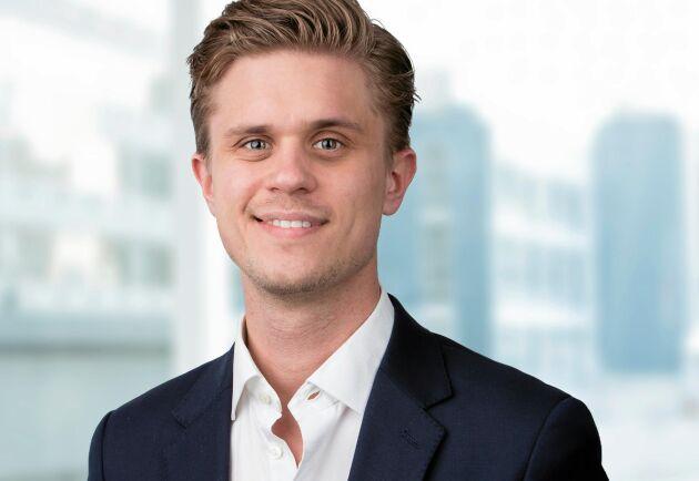 Erik Larsson, konsult, Macklean.