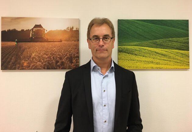 """""""Vi ska fortsätta att jobba nära marknaden och hoppas att ännu fler lantbrukare vill vara med på vår fortsatta resa"""", säger Per-Arne Gustafsson som tar över som vd för BM Agri den 1 oktober."""