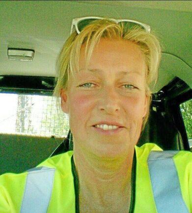 Elisabeth Erichsen, trader på Scangrain i Norrköping.
