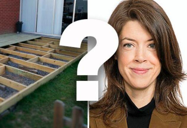 Altaner som inte är högre än 1,8 meter och byggs inom 3,6 meter från ett en- och tvåbostadshus kräver numer inte bygglov, skriver ATL:s jurist Lisa Kylenfelt.