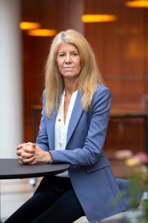 Kerstin Hallsten, chefsekonom för Industriarbetsgivarna.