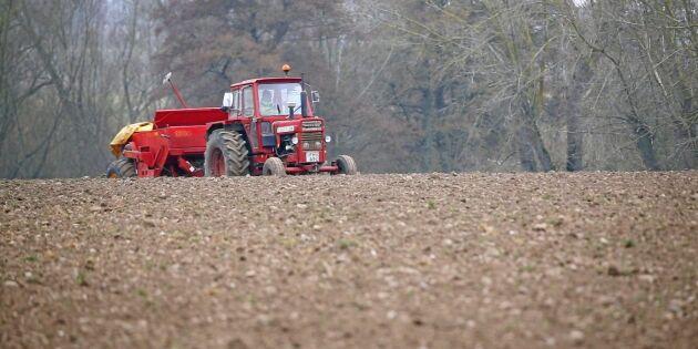 Vårbruket igång i södra Sverige