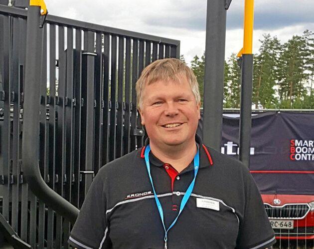 Dennis Grankvist, försäljningschef på Wikar OY.