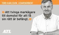 Tord Karlsson: Hantera fjällnära skog hederligt
