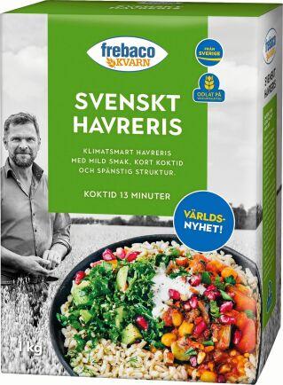 Havreris - gott och nyttigt! Och innovativt!