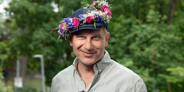 """Sommarprataren Marko """"Markoolio"""" Lehtosalo: """"Det är härligt att odla sin egen mat"""""""