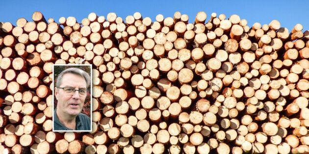 Skogsbolagets krav sänker volympriset