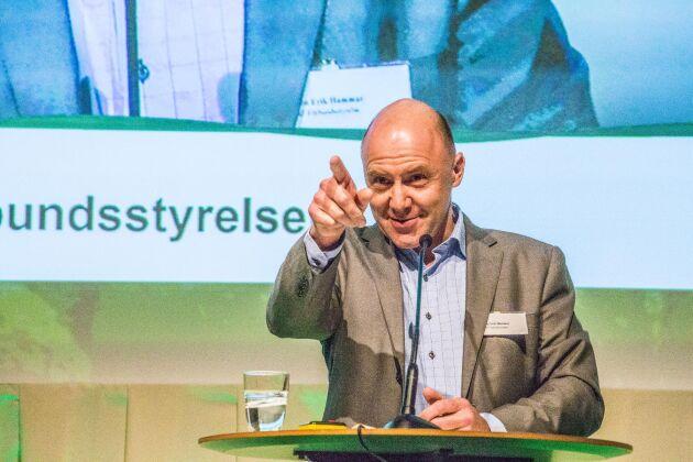 Vice ordförande Sven-Erik Hammar.