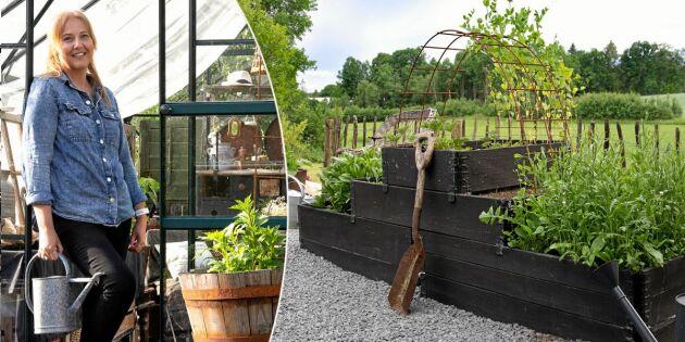 Härma stilen - Lagom latmansträdgård på landet