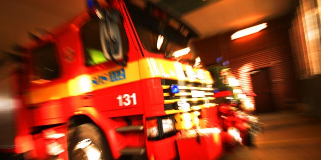 Brand i silo på lantbruk - för tredje gången