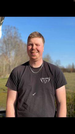 Magnus Svensson, mjölkproducent och Arla-leverantör utanför Älmhult.