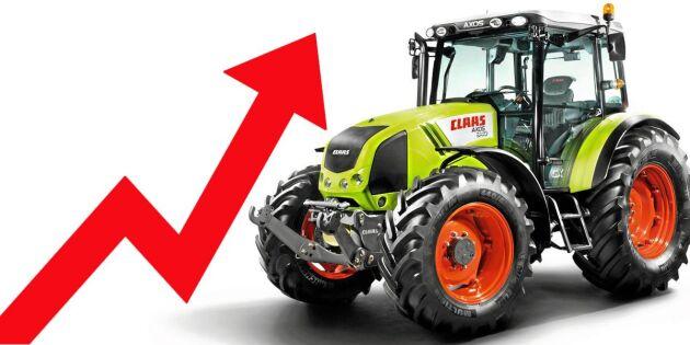 Traktorerna som går bäst – och sämst