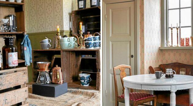 En kaffebar är makarna Eråkers nya projekt till sitt kafferosteri.