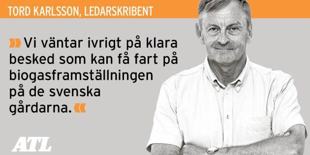 """Ett starkt svenskt lantbruk klarar klimatet"""