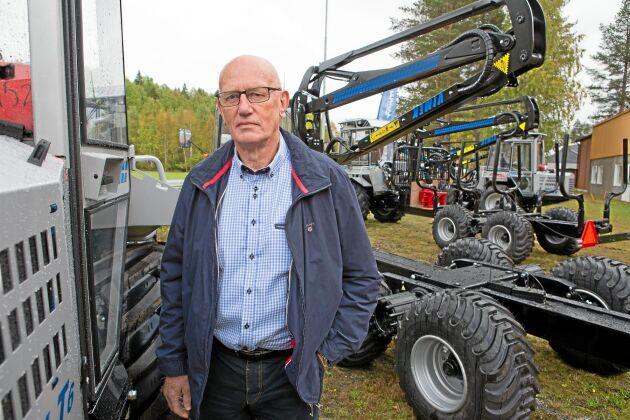 Hans Eliasson kom med idén till klustret och var ordförande fram till förra året. Han är delägare i Cranab/Skagkraft.