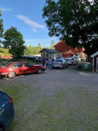 Elin Torstensson har haft gott om besökare i sommar.