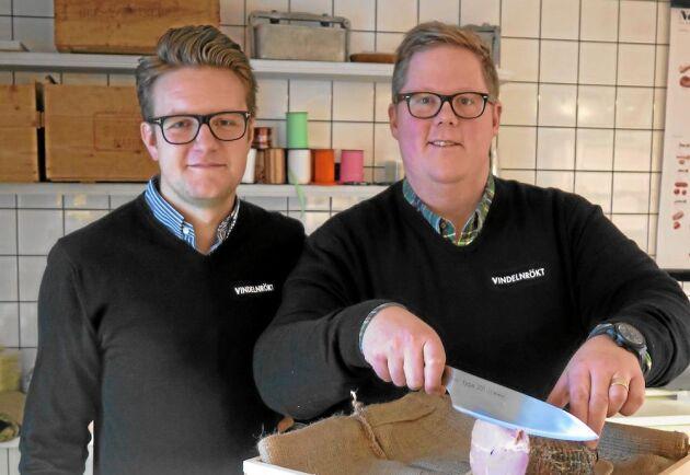 Robin Karlsson och Fredrik Jonsson, Vindeln.