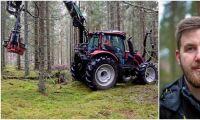 Investeringen kräver att traktorn går på högvarv