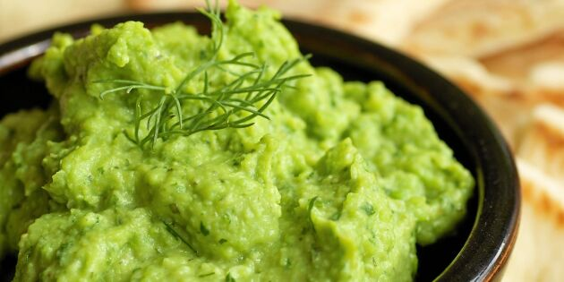 Så gör du guacamole av bondböna