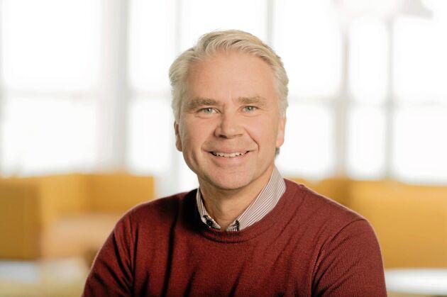 Magnus Björkman är marknads- och försäljningsdirektör på Södra Cell.