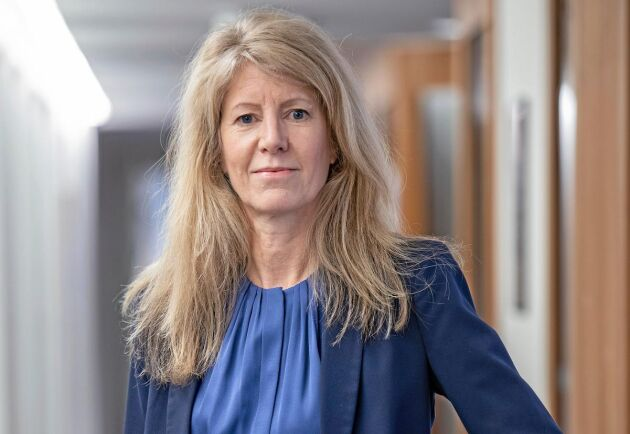 Kerstin Hallsten, chefsekonom Skogsindustrierna.