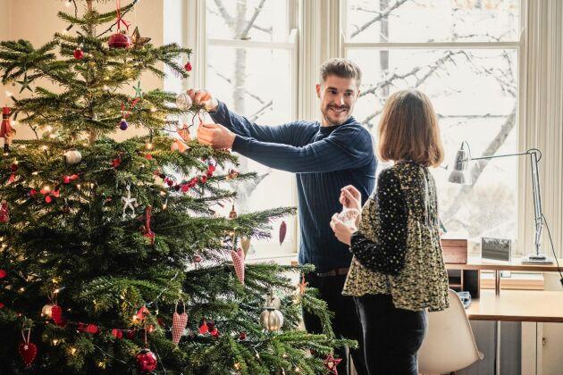 Tänk hållbart när det är dags att kasta ut julgranen.