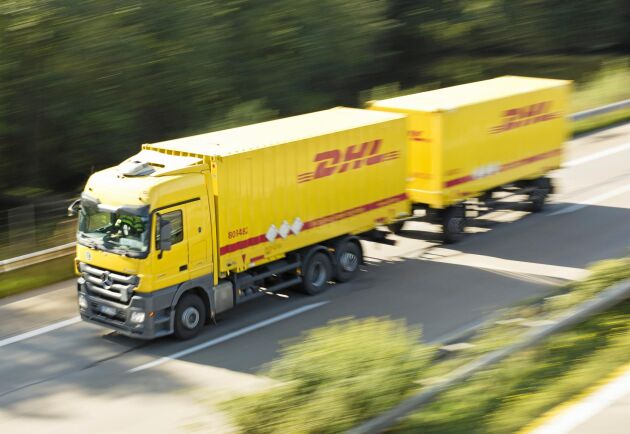 DHL-transport.