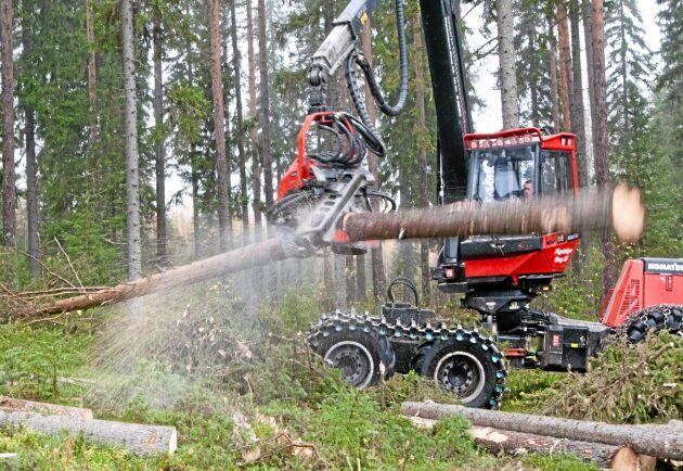 I sitt förslag till framtida referensnivå för avverkning går EU-kommissionen på Sveriges linje med en nivå på 92 procent av tillväxten.