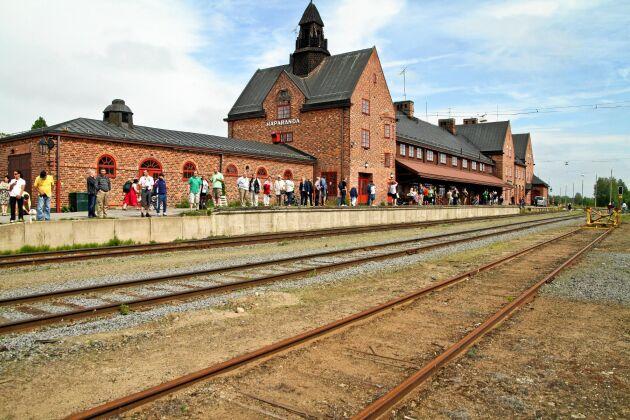 Haparanda järnvägsstation är en av Sveriges största järnvägsstationer på landsbygden.
